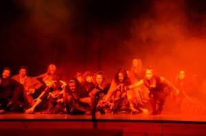 Eurythmieaufführung «Faust» der 8. Klasse 2016
