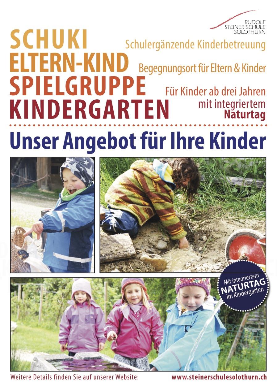 Flyer Kindergarten 2016