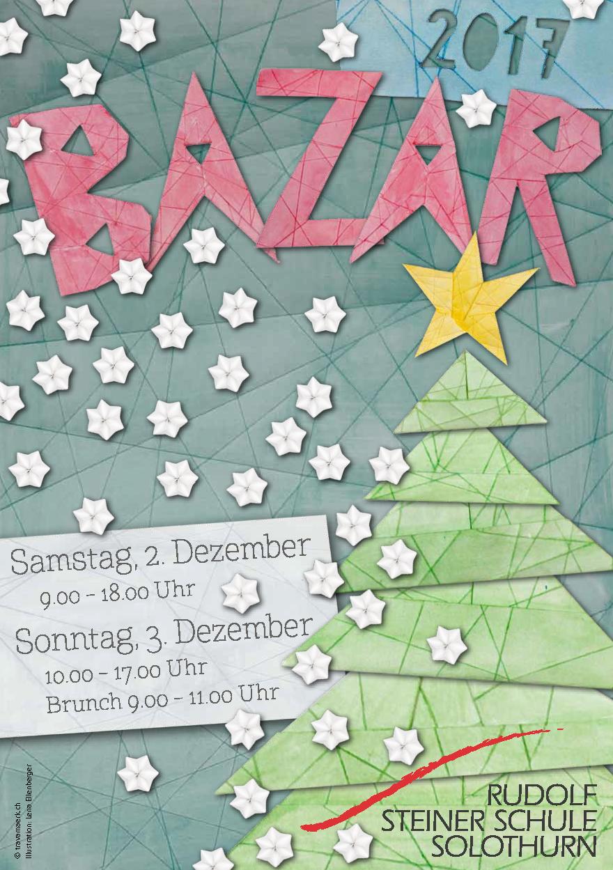 Bazar  2017  A5 Flyer Seite 1