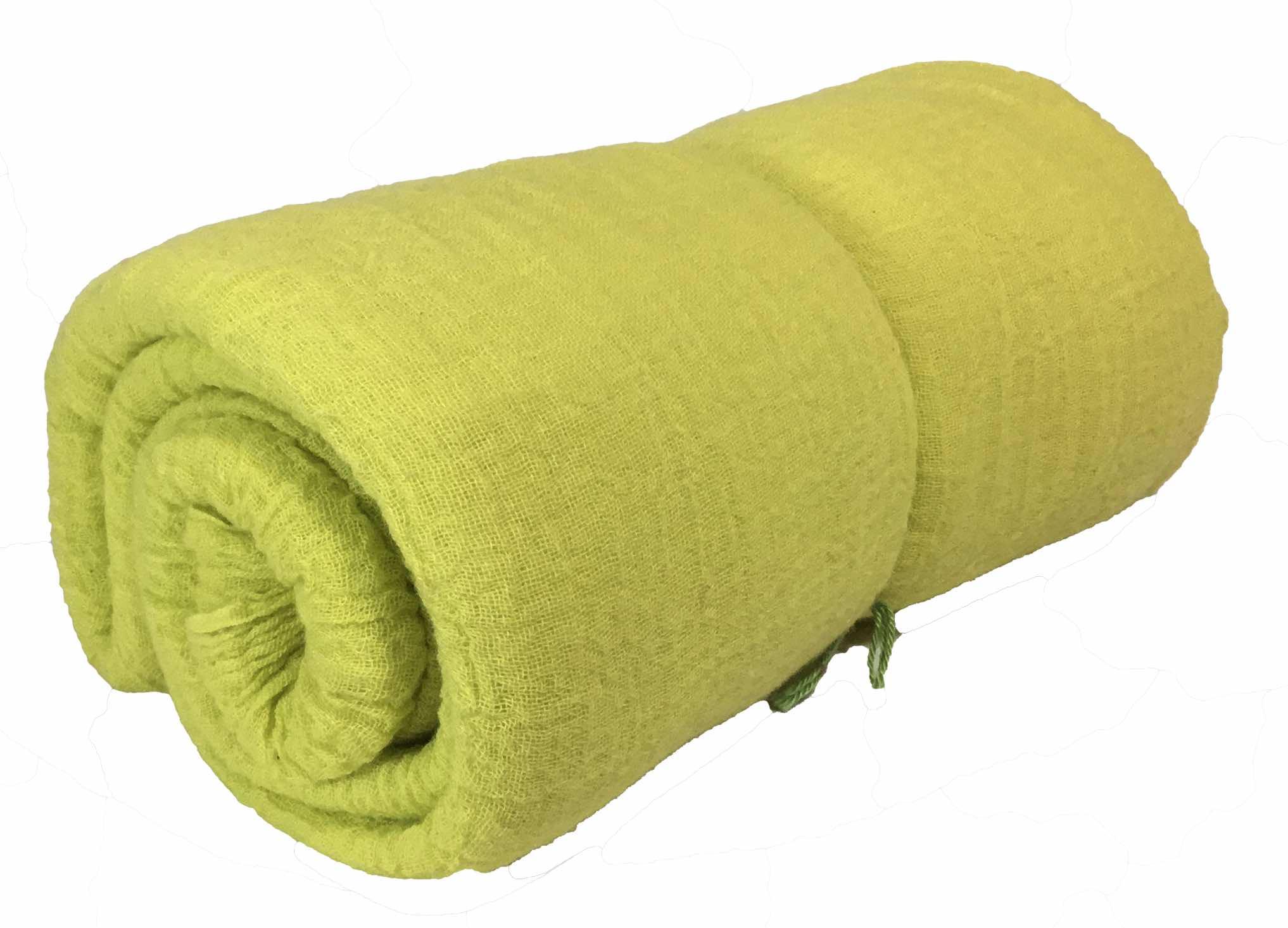 Spieltuch gelbgrün